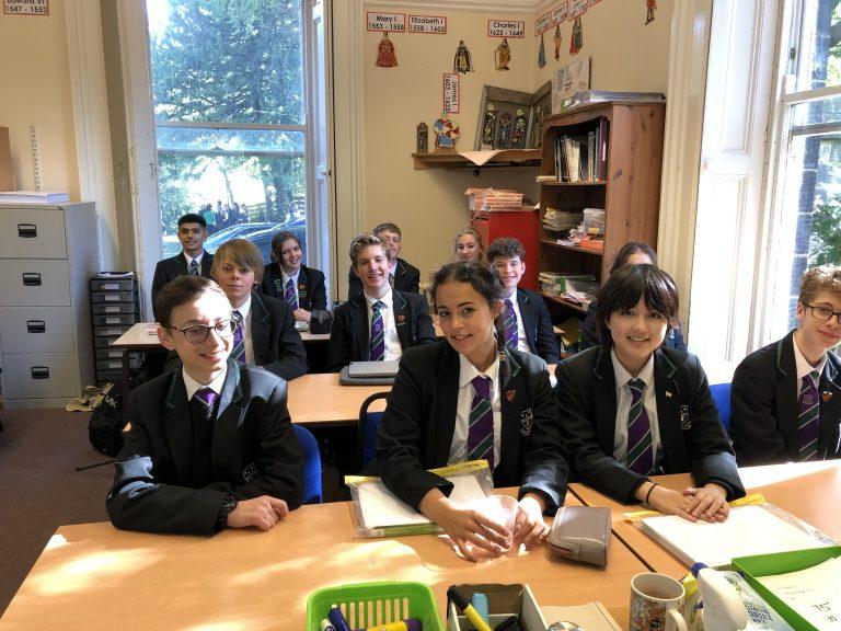 Westbourne pupils smiling